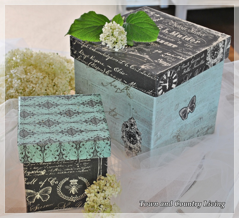 Decorative Boxes How To Make : Life as a decoupeur town country living
