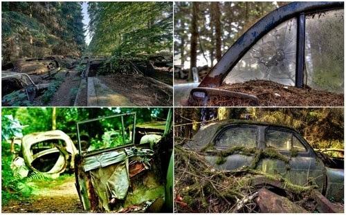 Chatillon Tanah Perkuburan Kereta Buruk Terbesar di Dunia