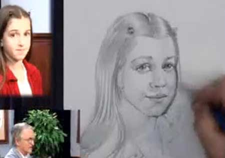 Portrait Drawing Lesson