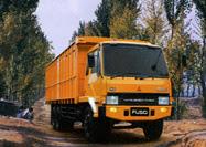 Truck Mitsubishi Fuso Tronton FN 517 ML2, 220 PS 6x2, 10 Ban