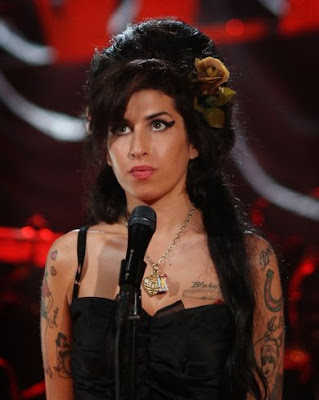 Amy Winehouse And Her Incredible Tattoo