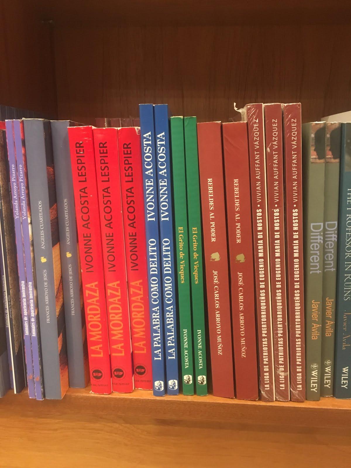 Mis libros en Casa Norberto
