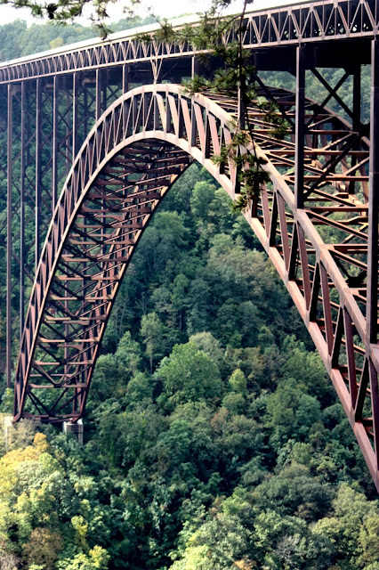 Arch of New river gorge bridge