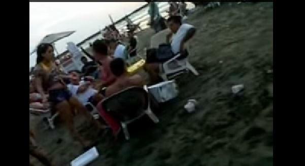 Encontro' al marido con una prostituta en la playa y que REBULU