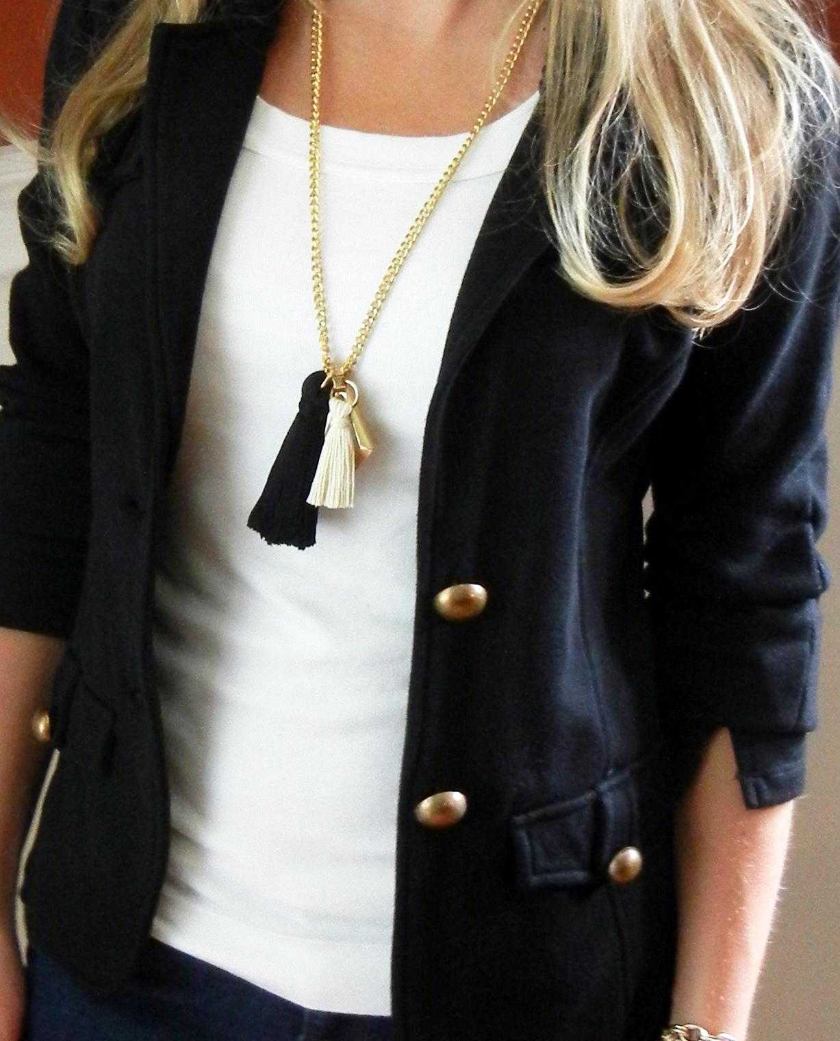 Diy+tassel+necklace