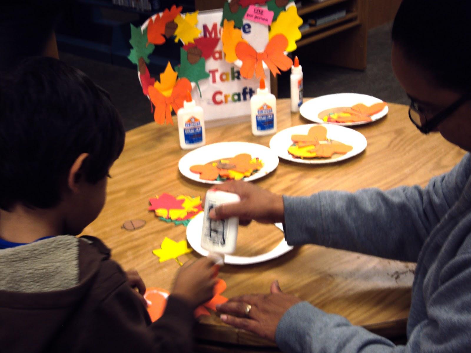 Irving schwartz branch library blog make and take craft for Make it take it crafts