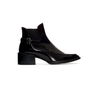black boots zara