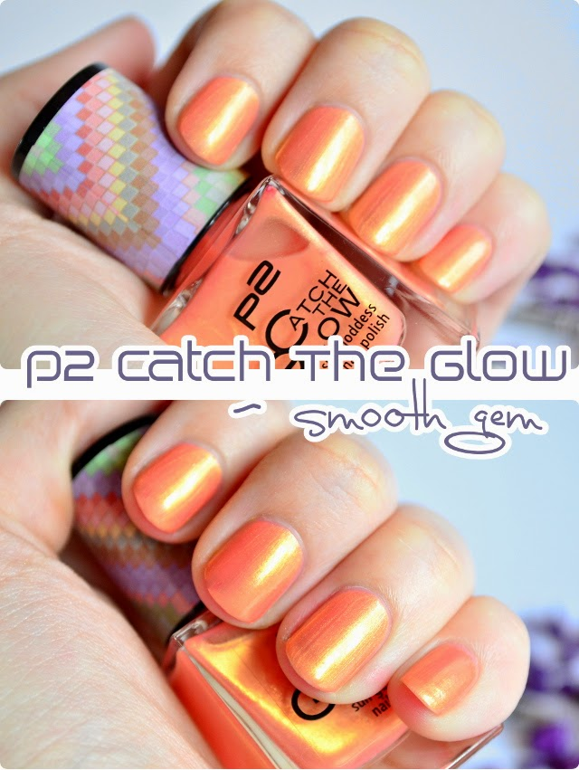 Review p2 Catch The Glow sun goddess nail polish SMOOTH GEM
