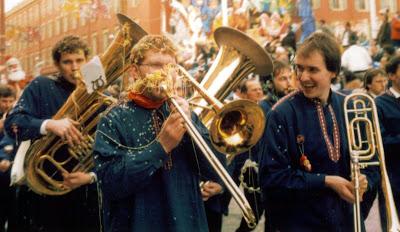 Band at Nice Carnival France