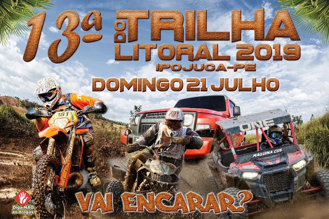 13ª TRILHA DO LITORAL - IPOJUCA/PE