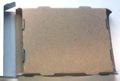 CSSD-S6T256NHG6Q パッケージを開封して内容物の取り出し パッケージの内容物の裏面