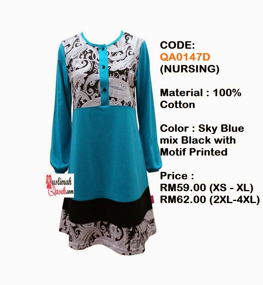 T-Shirt-Muslimah-Qaseh-QA0147D