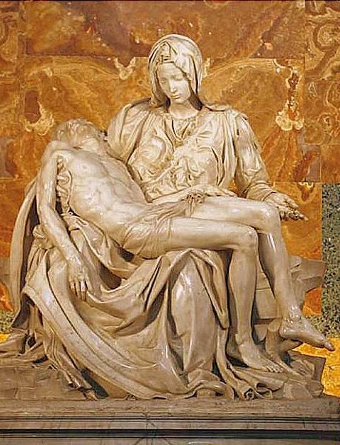 Historia de'La Piedad' Hecha por Miguel Ángel entre 1498-1499