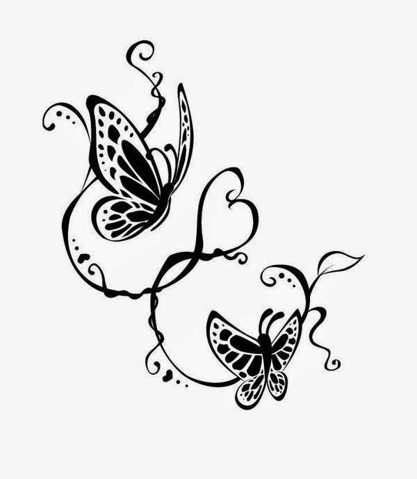 of meaning tribal tattoo butterfly Tribal Butterfly Green Tattoo Underside #1: