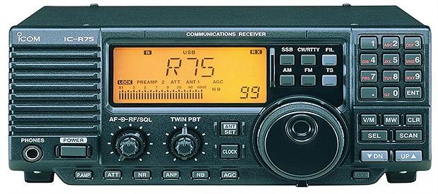 Icom IC R75