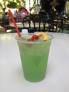 A cup of Disneyland Mint Julep