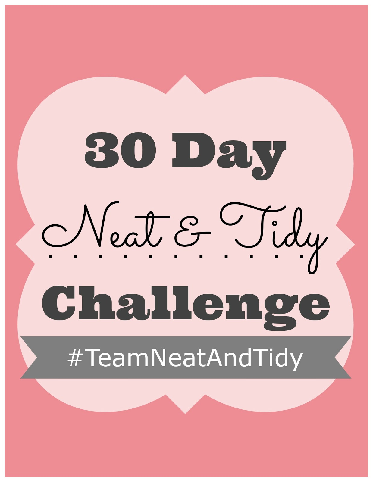 30 Day Neat & Tidy Challenge