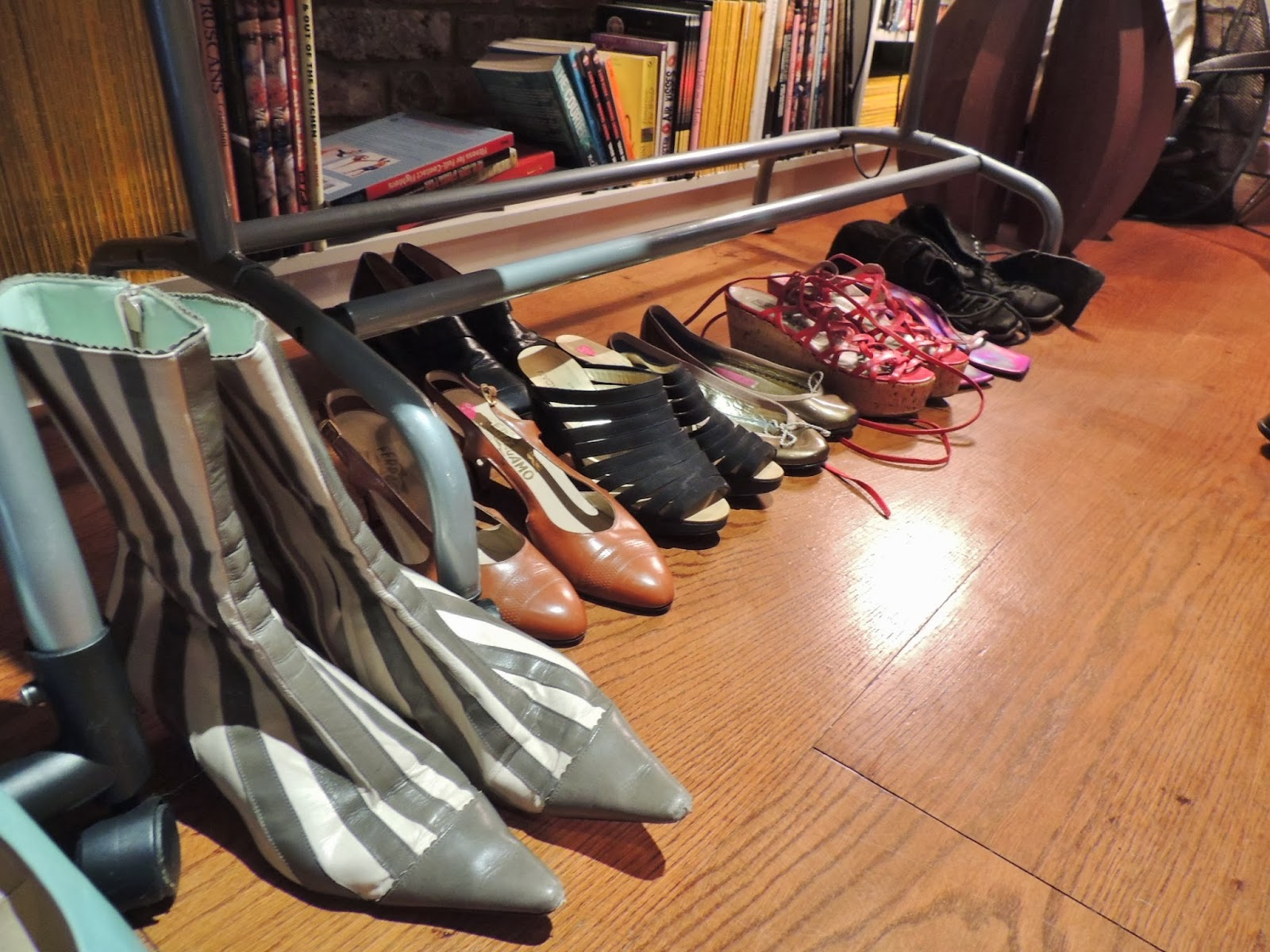 Vintage shoes through the ages
