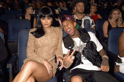 Kylie Jenner and Tyga.