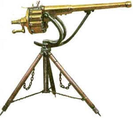 invention of the machine gun