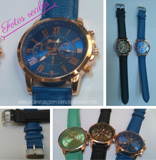 relojes geneva low cost compras