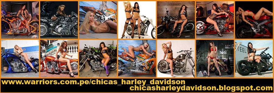 chicas Harley Davidson - motos chopper peru