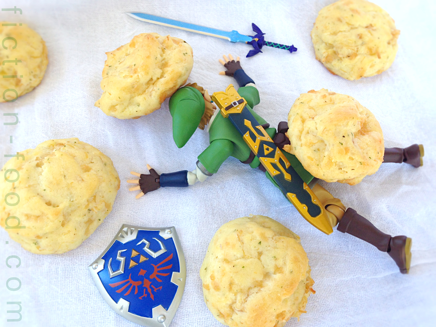 Fiction food caf cucco puffs for the legend of zelda games for Cuisine zelda