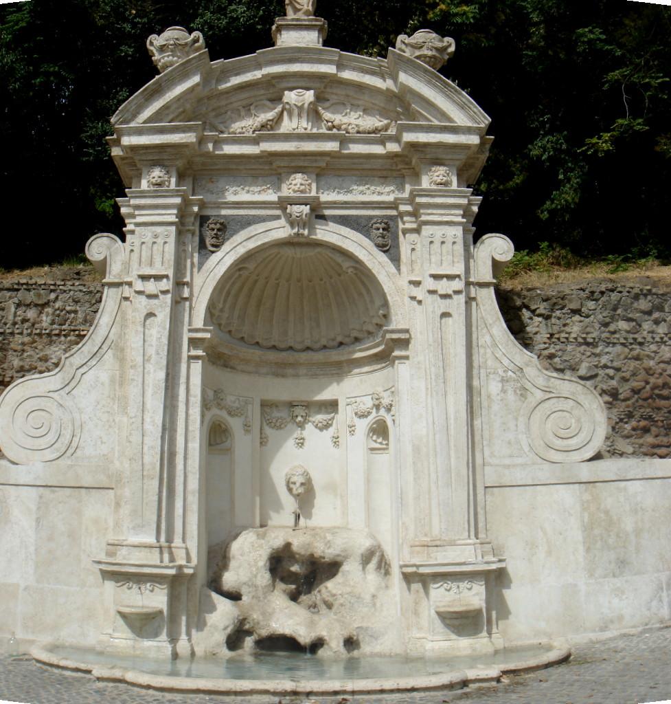 Trastevere app fontane a trastevere - Fontane a parete da giardino ...