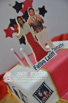 Fatiya + Iqram Birthday Cake