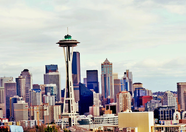 Kerry Park, Seattle, Space Needle, Washington, photography