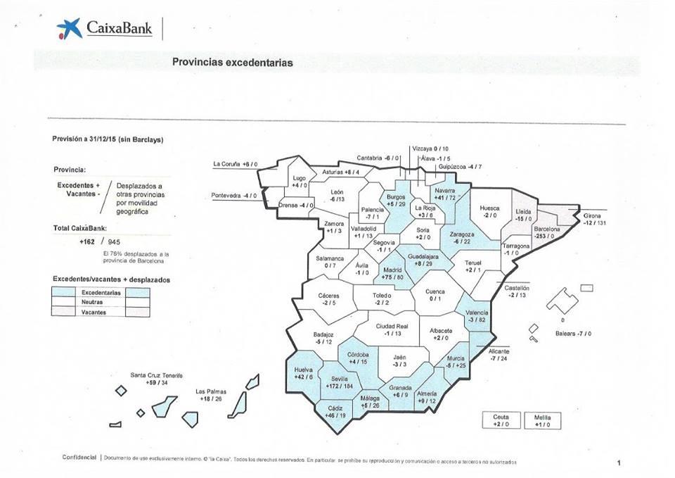 Julio 2015 ddr datos de referencia emplead s bancari s for Localizador de oficinas la caixa