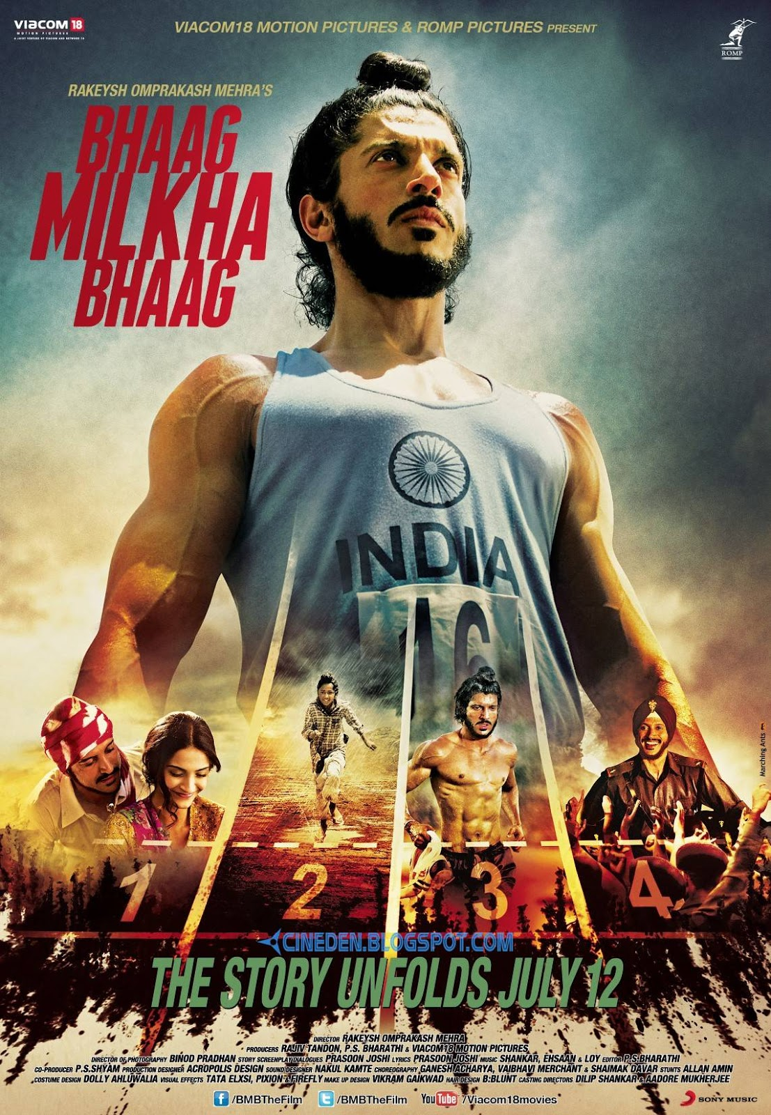 Bhaag Milkha Bhaag (2013) - Hindi Movie Review - CineDen