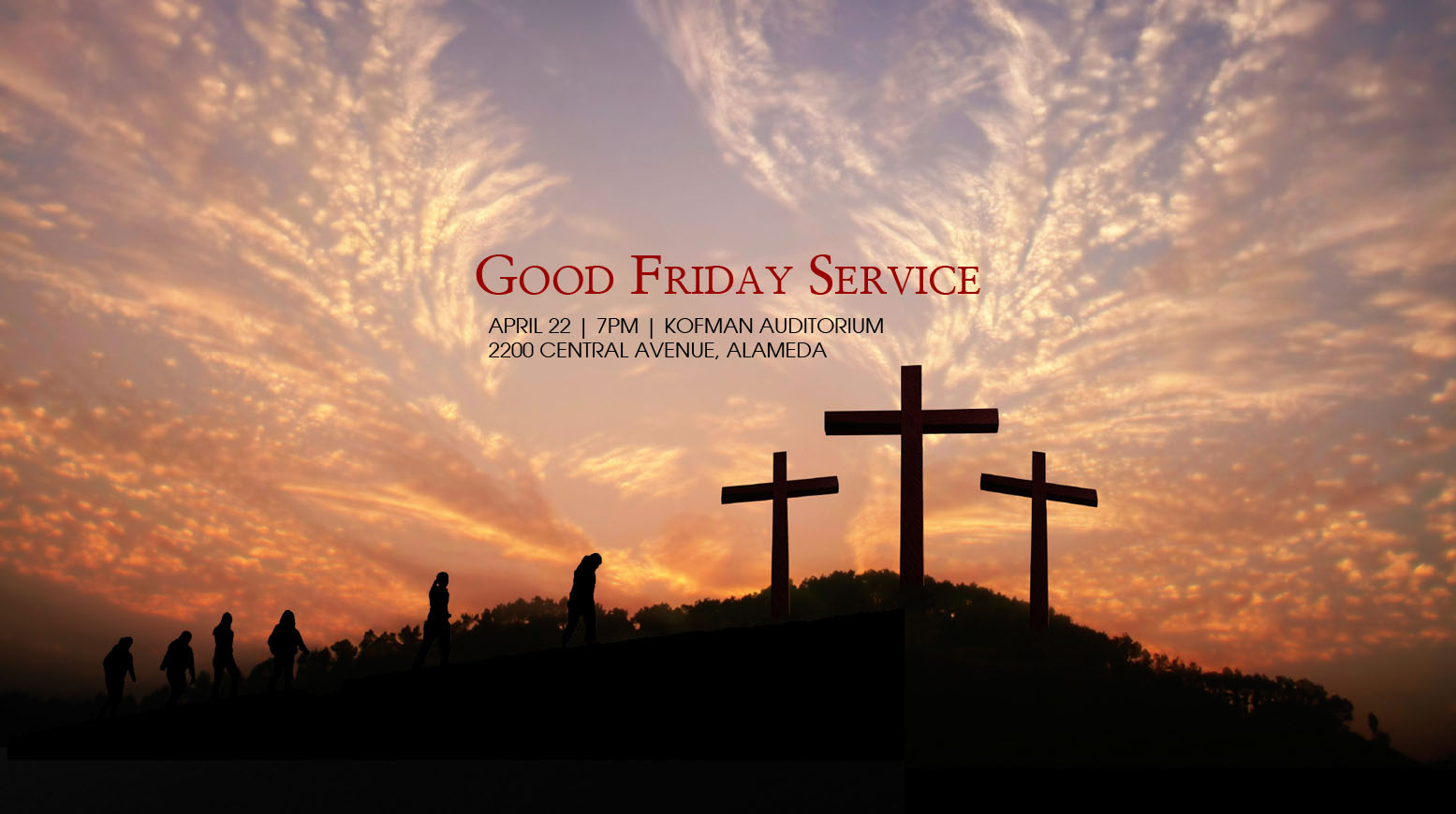 Easter Good Friday 2018