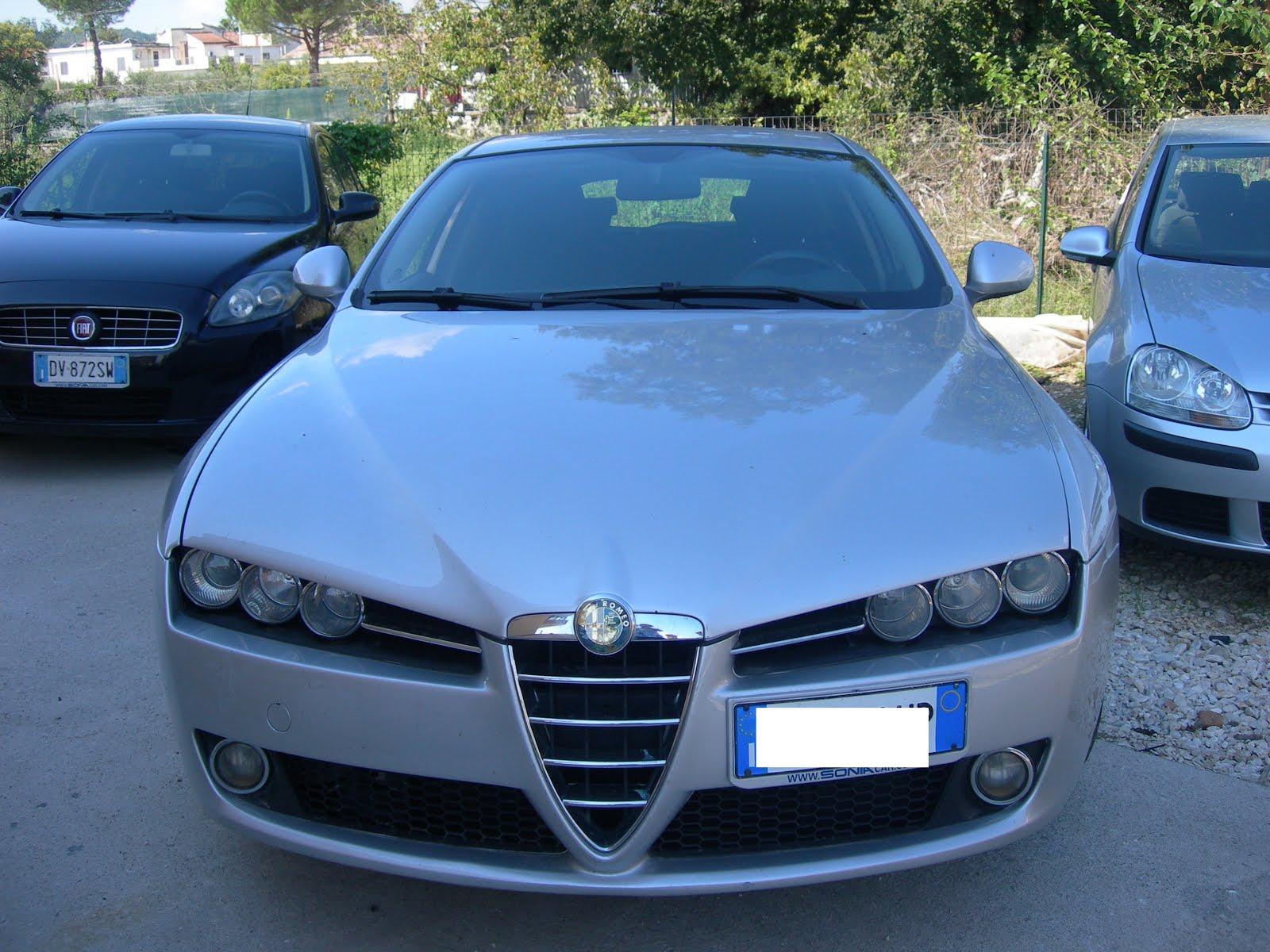 ALFA ROMEO 159 1.9 JTD-m 150 CV ANNO 2008 127.000 KM PREZZO 6.000,00 EURO