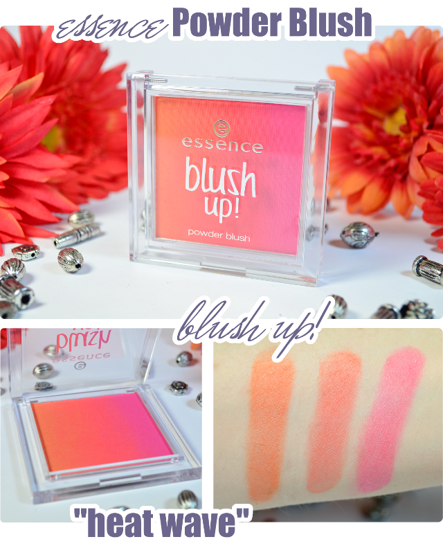 essence Neuheiten Frühjahr 2014 # 2 - Blush up! Powder Blush HEAT WAVE