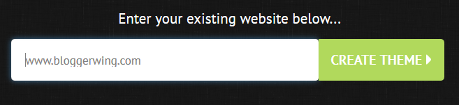 enter blog address