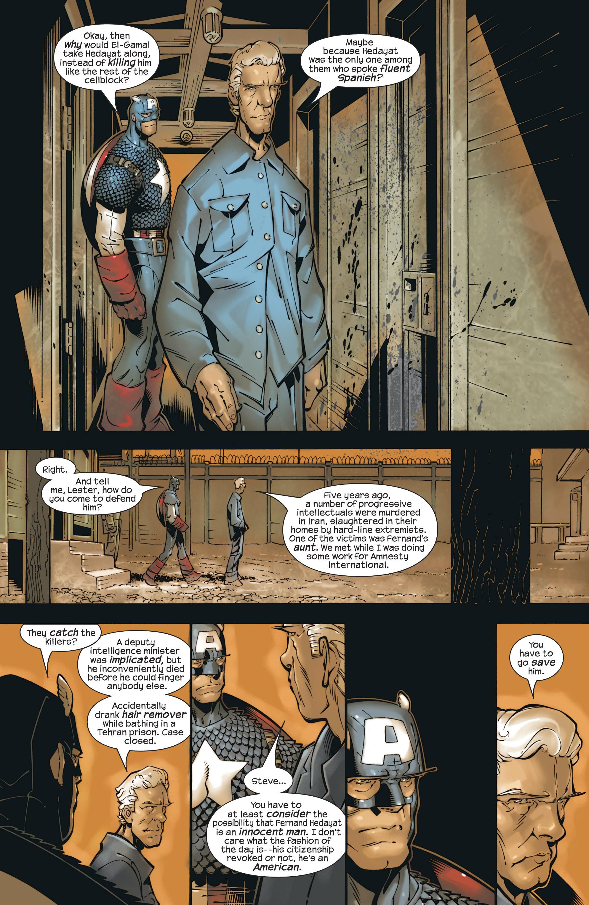 Captain America (2002) Issue #23 #24 - English 12