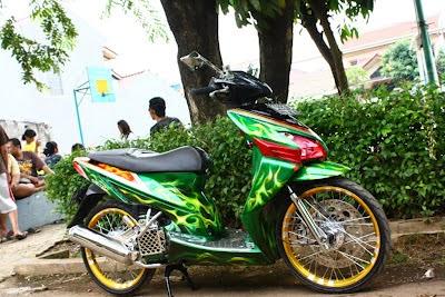 Foto Modifikasi Honda Vario Terbaru