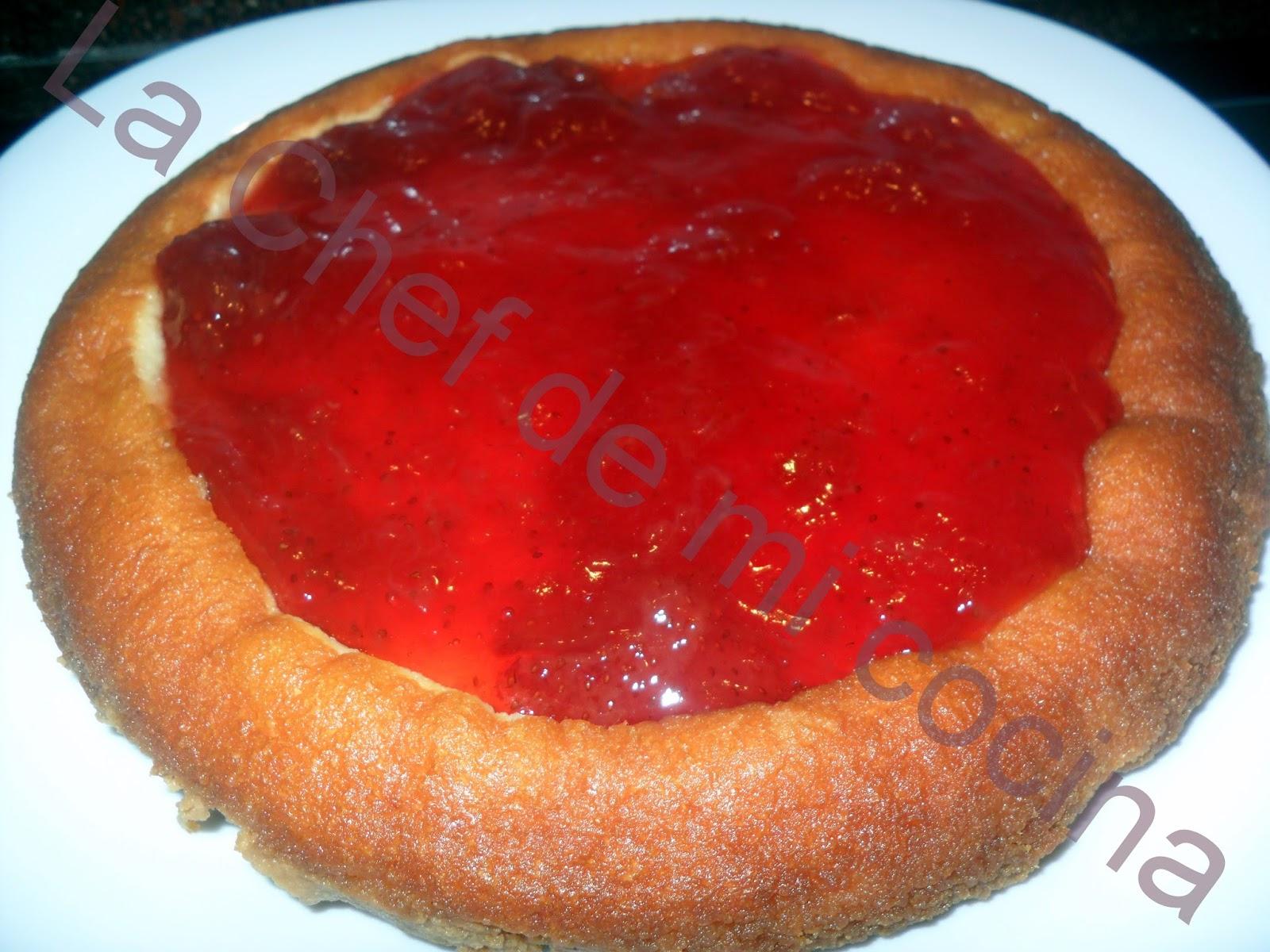 La chef de mi cocina tarta de queso en chef o matic pro - Recetas cocina chef matic pro ...