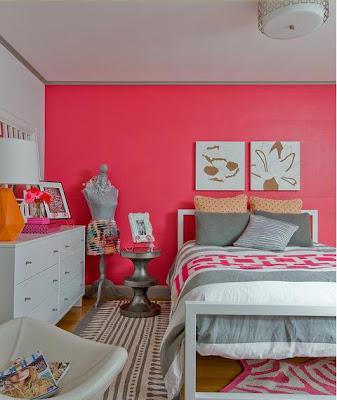 dormitorio colorido juvenil