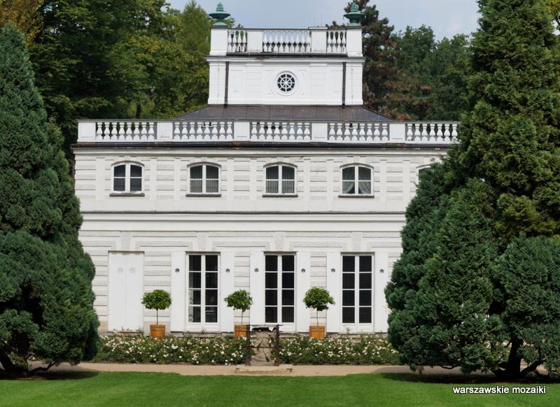 Warszawskie Mozaiki Biały Domek łazienki Królewskie