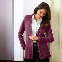 Jacheta cu maneca lunga din acrilic