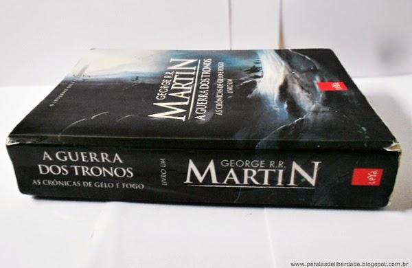A Gerra dos Tronos, George R. R. Martin, editora LeYa, As crônicas de gelo e fogo, resenha, trechos, resumo, livro, crítica, sinopse