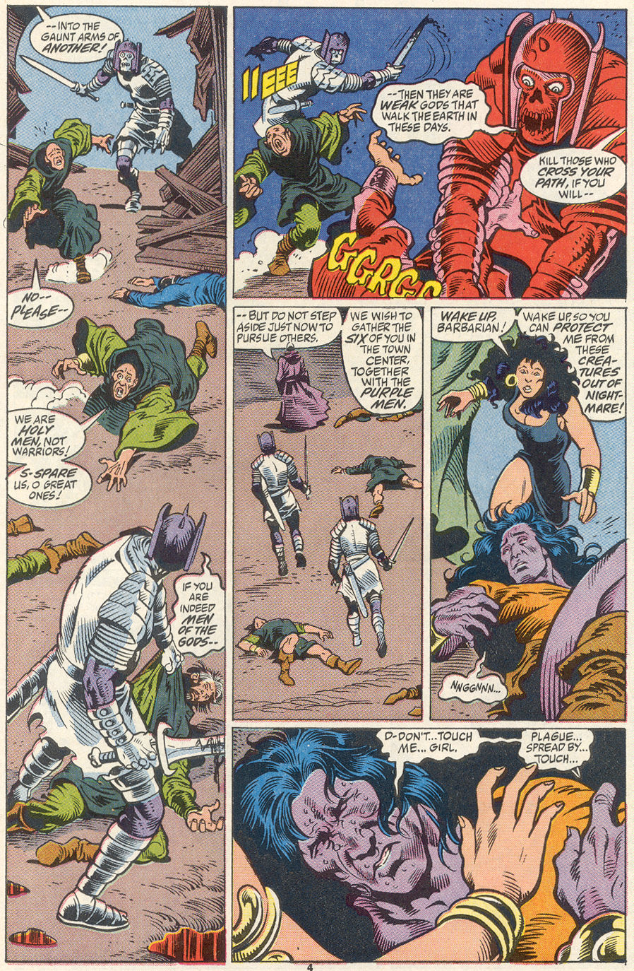 Conan the Barbarian (1970) Issue #256 #268 - English 5
