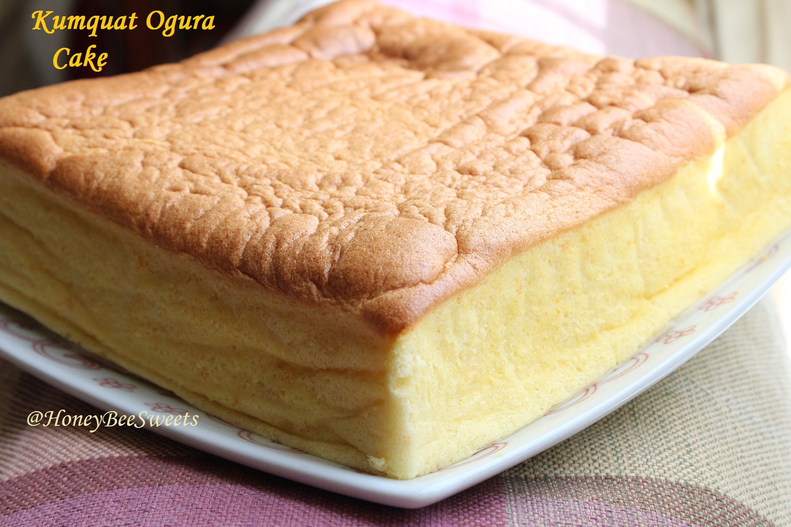 Plain Ogura Cake Recipe