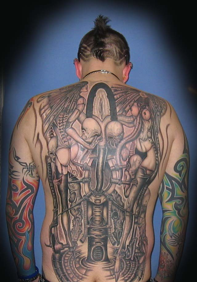 Japan Viking Warrior Tattoo