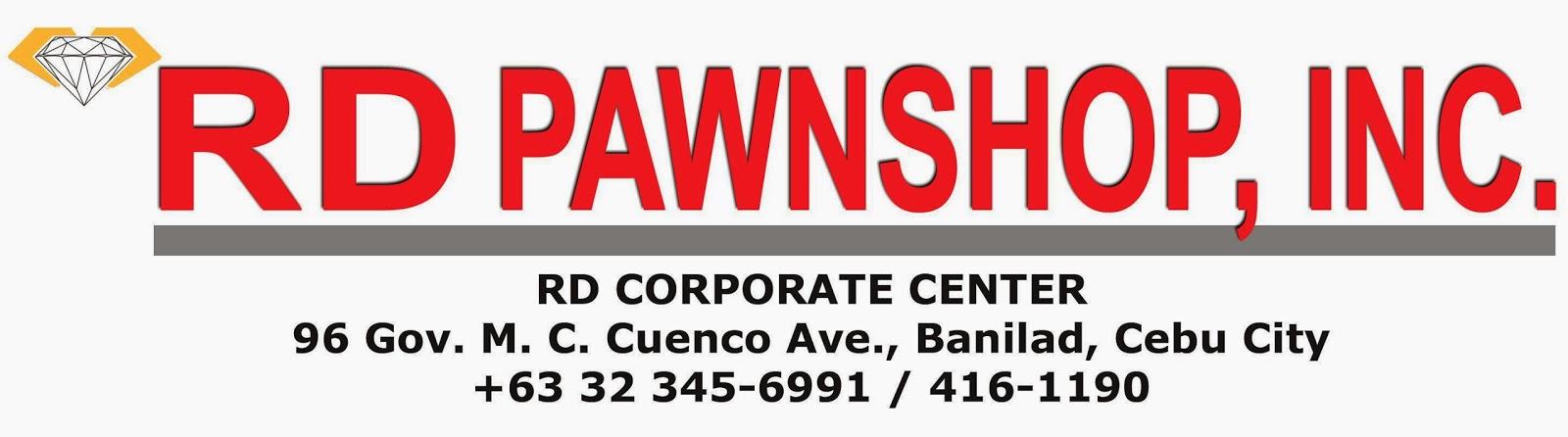 RD Pawnshop logo