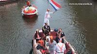Koninginnedag in Amsterdam Boat Parade