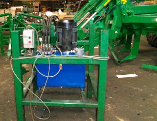 Hydraulic power pack repair