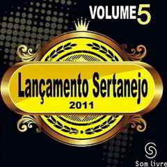 CD Lançamento Sertanejo Vol.5 2011